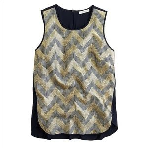 J. Crew guilded chevron mixed shell 00